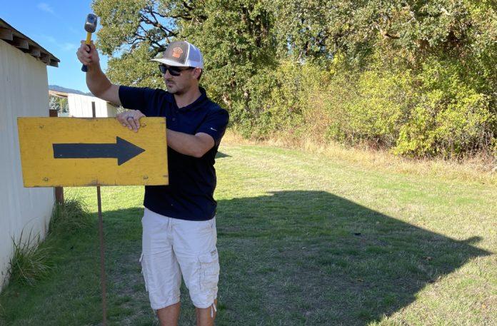 Paul Mariman course sign